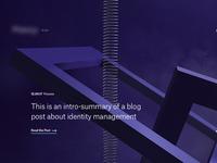 Still-life blog header