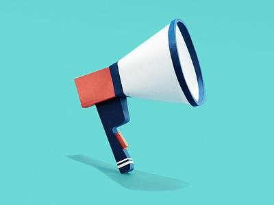 Hear Ye, Hear Ye announcement communication bullhorn not a render paper illustration paper paper craft