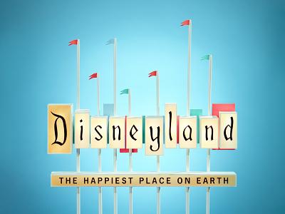 Disneyland Project fanart disneyland retro disney