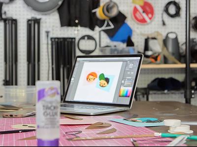 Paper Process disney avatars mary blaire process video bts
