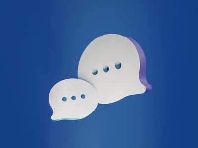 Chats chat bubble discussion chat illustration not a render paper paper illustration paper craft photography