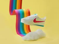 Paper Nike Cortez