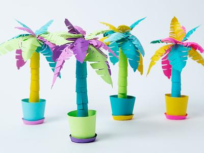 Festive Palm Tree P.L.A.Y! Kits paper craft