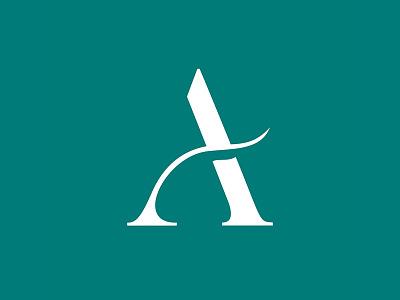 Atenas symbol typography symbol icon design vector brazil campos do jordão branding identity logo