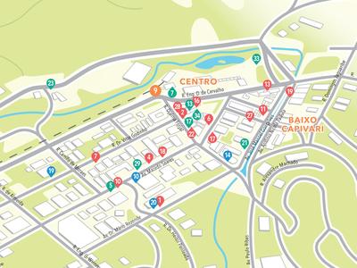 Neighborhood Map for Guia Castelfranchi