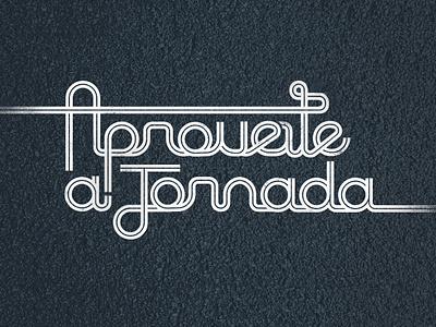 Lettering for SP-50 Beer Pub road highway typography campos do jordão brazil branding type illustration lettering