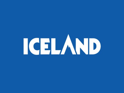 Logo for Iceland Ice Bar bar vector brazil campos do jordão identity mountain branding logo logotype wordmark typography kabel ice bar iceland