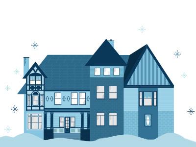 Hutchinson House Illustration