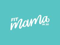 Fit Mama Logo Variation