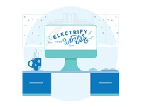 Electrify Your Winter - Social Media Graphics