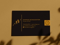Metric Marketing Business Card Deisgn