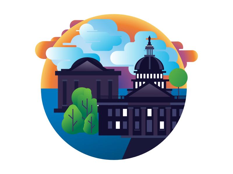 Washington, D.C. designer affinity ipad washington design illustration