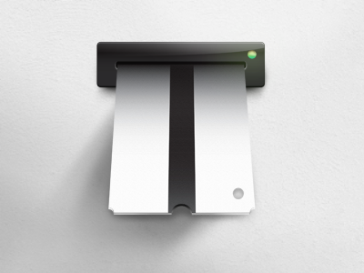 T For Ticket ticket icon machine t