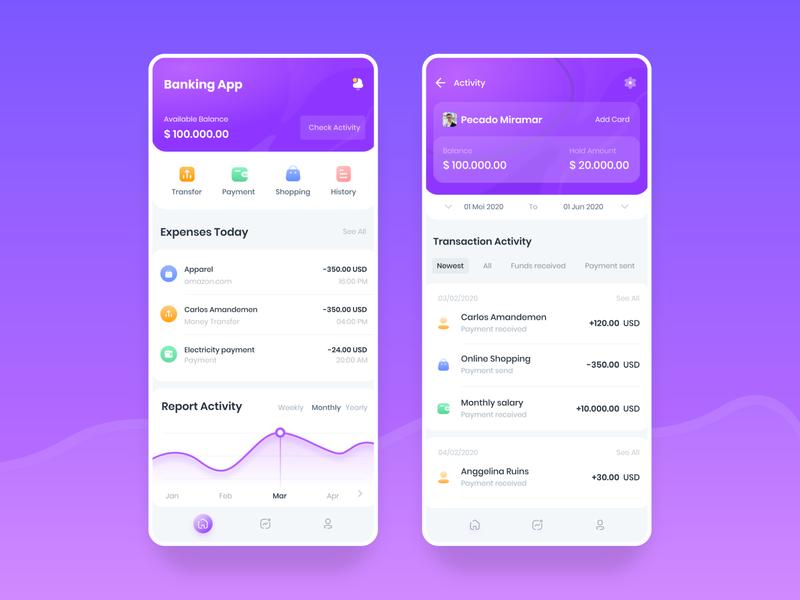 Banking app bank app bank card banking app bankingapp banking bank finance financial finance business finance app finance yusuf matra ux ui mobile app user experience user interface