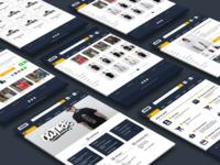 Web ui Ownrs online shop