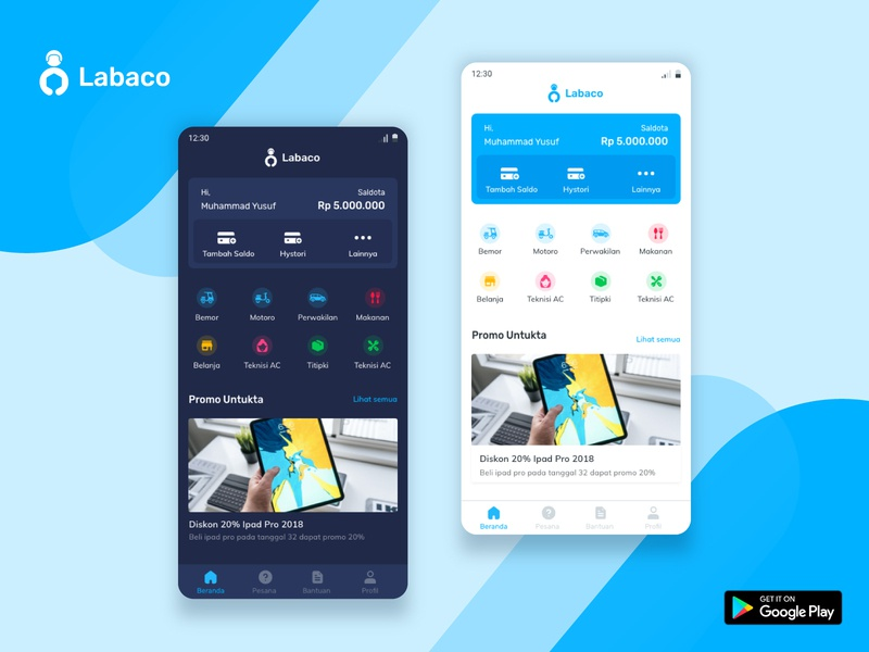 Labaco Mobile App