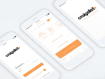 CL plus app app product design ui ux visual design iconography apple ios