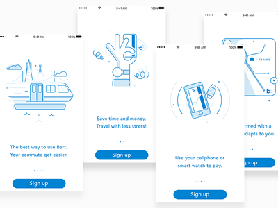 Onboarding illustrations android ios sketch product design onboarding illustration