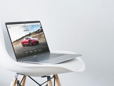 Macbook Pro On Fancy Chair (FREEBIE) apple free high-resolution mockup mock-up photorealistic photoshop psd workspace macbook