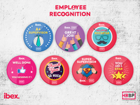Ibex - HRBP Employee Recognition Badges