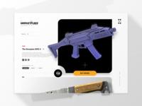 3D Model Marketplace concept