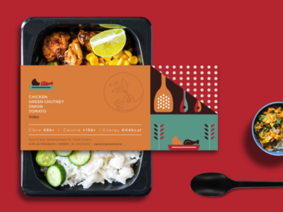 Spice n Soul - Packaging sweden hyderabad identity logo colourful indian packaging food