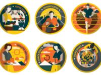 Badges for TruWeight App