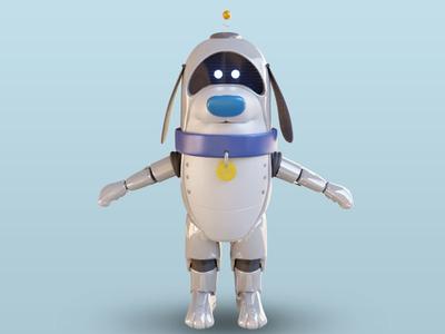 Linky the robot dog