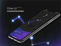 Glow UI Kit Free to Download mobile ui free ui kit