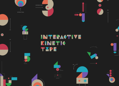 Interactive Kinetic Type!
