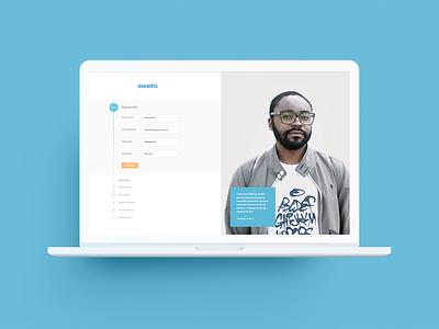 Form design web ui form