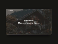 Simple landing page / Custom wooden houses