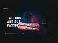Tattoo Studio - Landing Page Concept