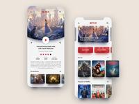 Netflix - Mobile App Redesign