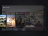 Jestico + Whiles Architects - Webdesign Concept