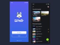 Trello Dark Mode - Redesign Concept