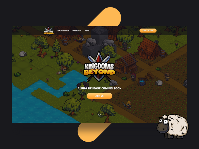 Kingdoms Beyond - Web Design by Lisa Martinovska on Dribbble