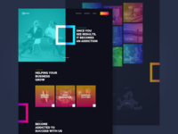 AdDiction - Creative Company Web Design