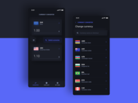 Lavandoz - Currency Converter - Dark mode