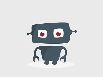 Inwazja Robotow robot logo vector
