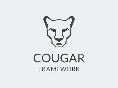 Cougar Logo identity mark animal logotype logo cat cougar