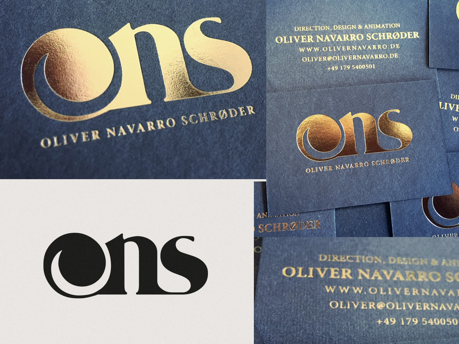 ONS LOGO & CARDS
