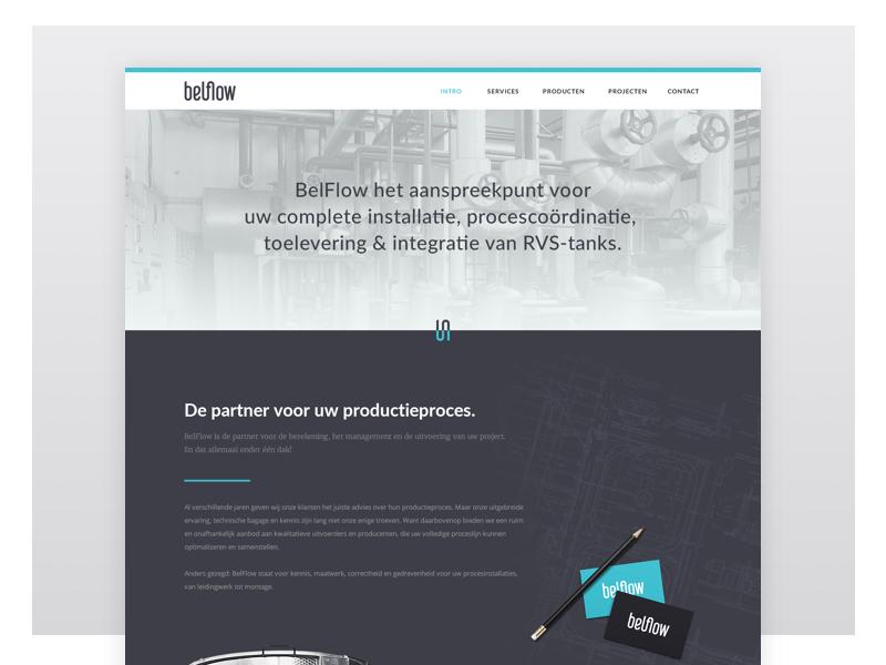 Belflow Webdesign brand-design rebranding webdesign