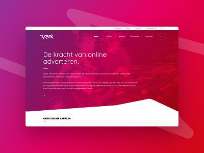 VAR - UX/UI Design ux-design ui-design branding website var
