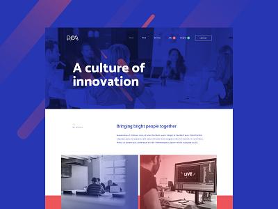 RCA Hasselt corporate digital design identity ui-design rebranding branding responsive branddesign webdesign