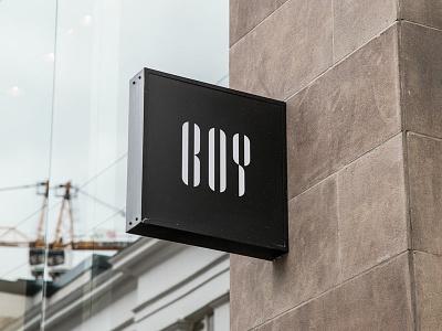 BOY branddesign concept branding logo