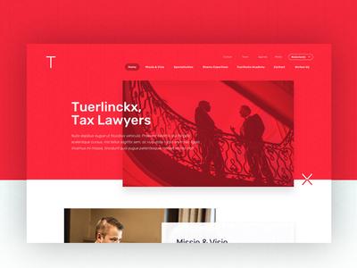Tuerlinckx Branding + Webdesign corporate digital design branddesign uxdesign uidesign webdesign branding firm lawyer