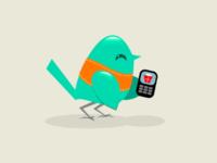 Text Gift Bird