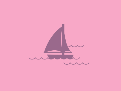 Saelbote sailboat water simple lines boat
