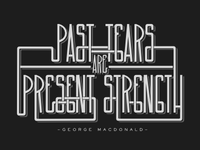Past Tears are Present Strength